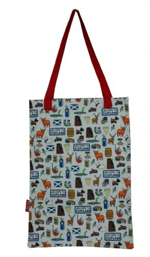 Selina-Jayne Scotland Limited Edition Designer Tote Bag